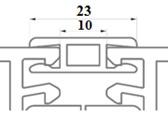 Profiliai PVC rėmų sujungimui
