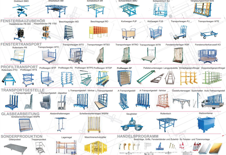 Transportavimo vežimėliai ir darbastaliai