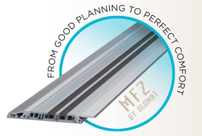 Alumat renovacinis slenkstis MTZ su nuliniu aukščiu