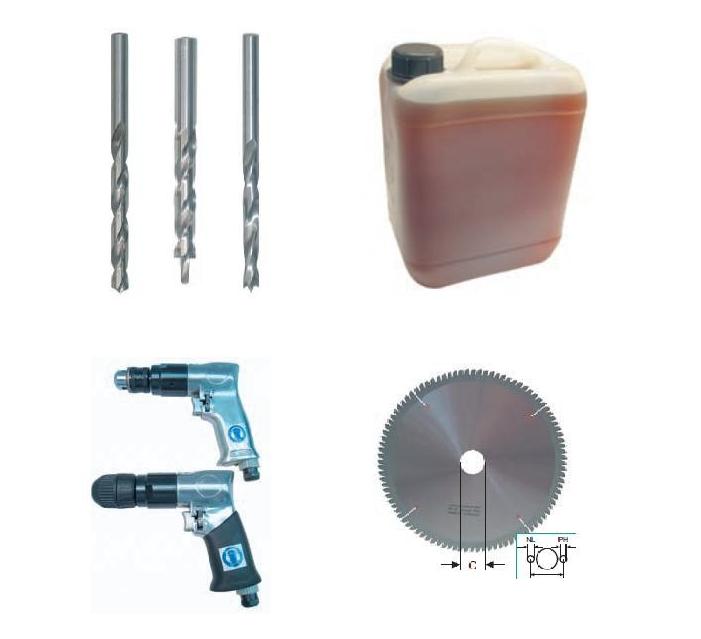 Įrankiai staklėms, apdirbimo centrams