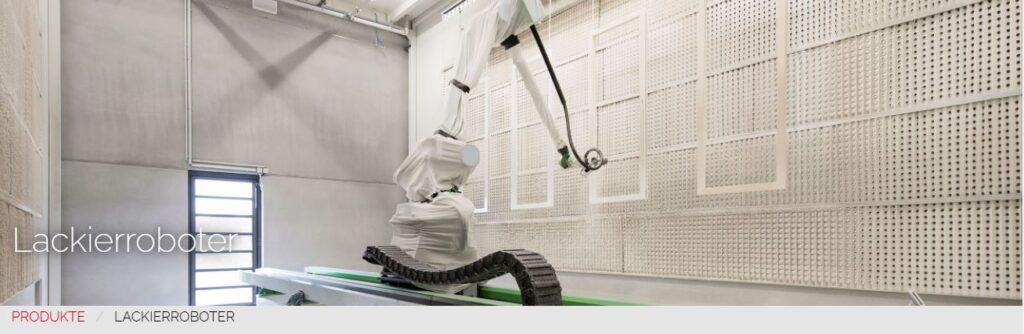 R+H įranga: dažymo robotai